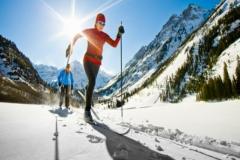 Лыжи и лыжные комплекты